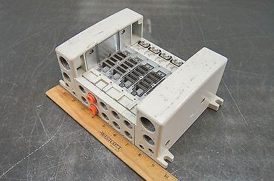 Smc Pneumatic Air Solenoid Valve Manifold Control Block