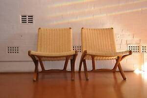 Hans Wegner Vintage replica Folding Chairs x (2) Willoughby Willoughby Area Preview
