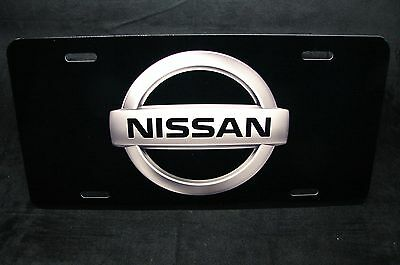 NISSAN METAL NOVELTY LICENSE PLATE TAG FOR CARS  PRINTED LICENSE - Cars Plates