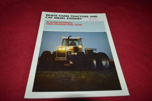 White 2-180 4-175 4-225 4-270 Tractor Dealer Brochure DCPA10