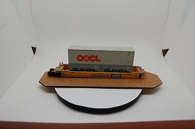 HO Athearn Blue Box Trailer Train, APC Stack Train Husky cars - 5 car set.