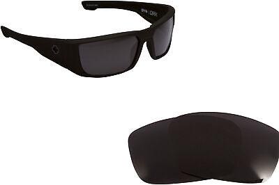 Replacement Lenses for SPY OPTICS DIRK Sunglasses Anti-Scratch (Spy Dirk Lenses)