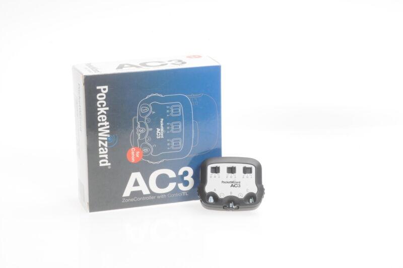 PocketWizard Flex AC3 Zone Controller Canon AC3-C #793