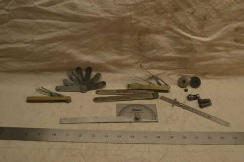 Lot of Precision Measurement Tools