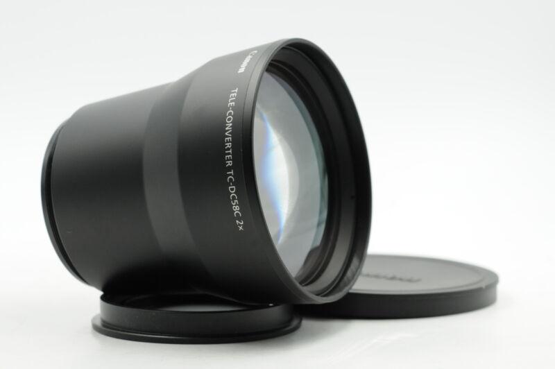 Canon TC-DC58C 2x Tele-Converter for G7, G9 #379