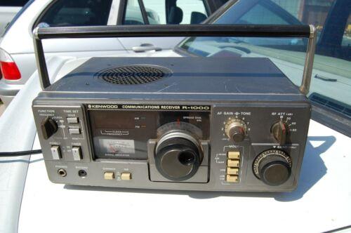 Vintage Kenwood R-1000 Short Wave Radio Receiver