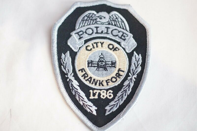 US City of Frankfort Kentucky Police Patch 2