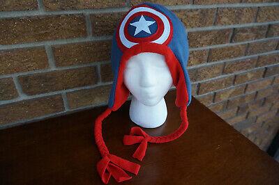 HAT Knit Fleece Captain America Laplander Peruvian Costume Accessory Avengers