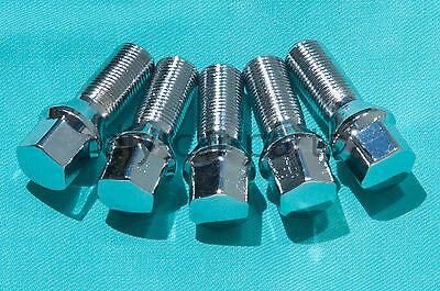 Set of 20 New Chrome BMW Lug Bolts Nuts 745i 745Li 750i 750Li X5 X3 760i (Bmw Chrome Lug Bolts)