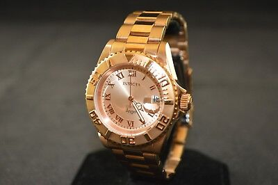 Invicta Angel Rose Dial Rose Gold Stainless Steel Ladies Watch 14322