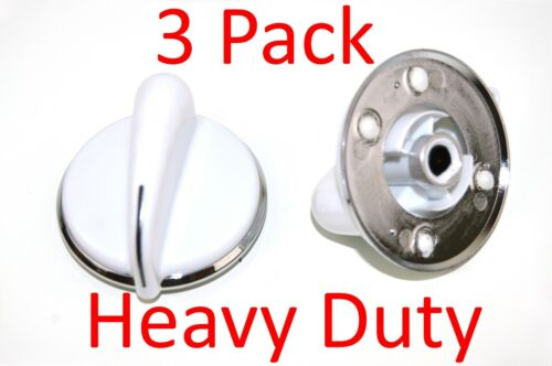 WE01X20378 Heavy Duty Dryer Timer Control Knob for General Electric 3 Pack