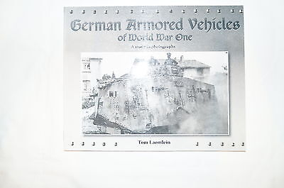 WW1 German Armored Vehicles Tanks Reference Book
