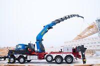 Knuckle Boom Crane Service/ Boom Truck / Mobile crane rental