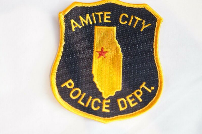 US Amite City Louisiana Police Patch