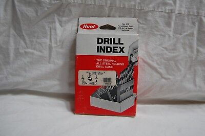 Huot Drill Index With 13 Drill Bits 116 To 14