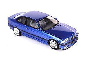 BMW E36 M3 3.2 3 SERIES 3ER BLUE 1:18 OTTO OT625 NEW RESIN MODEL CAR