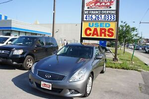 2012 INFINITI G37x LUXURY | LEATHER | BACKUP CAM | SUNROOF | CLE