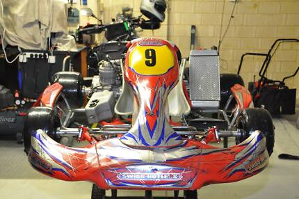 Swiss Hutless Force Race Go Kart