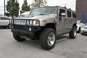 2004 HUMMER H2 LEATHER | SUNROOF | NEW TIRES | NO ACCIDENT |