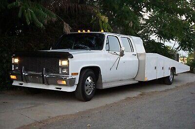 1981 Chevrolet C/K Pickup 3500  Ramp Truck Car Hauler Big Block