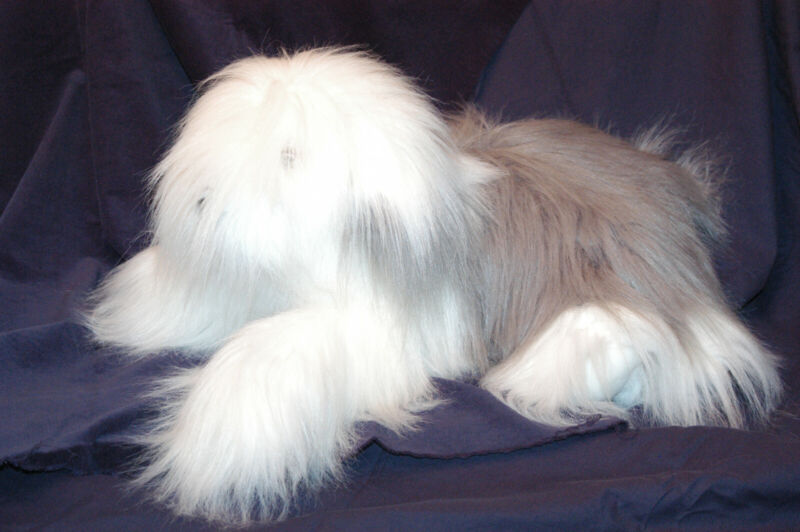 FAO SCHWARZ Fifth Avenue Old English Sheepdog Excellent Displayed Only