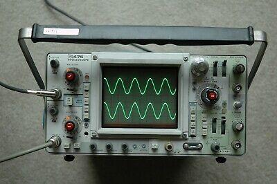 Tektronix 475 200mhz Oscilloscope Calibrated Nice Condition Sn B284987