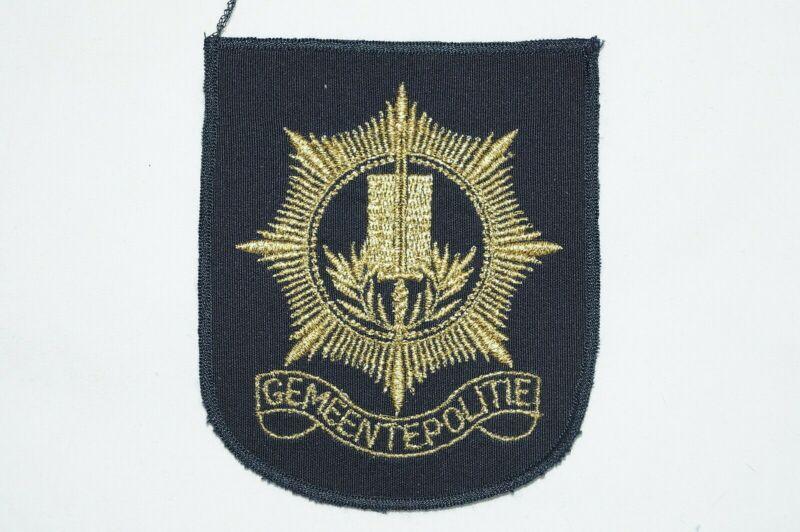 Netherlands Belgian Gemeentepolitie Police Patch