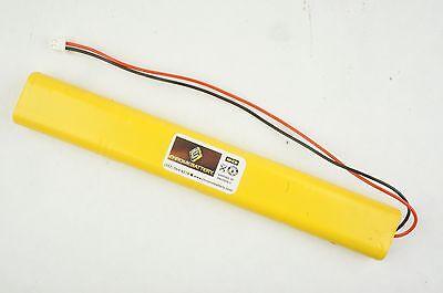 Emergency Lighting Battery 9.6v 800mah Replaces Lithonia Unitech Bbat0043a