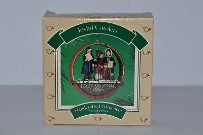 Hallmark Joyful Carolers 1986 Christmas Medley Collection Holiday Ornament -