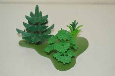 Playmobil Wildlife Western Safari Jungle Garden Bushes Tree Plant Scenery Spares
