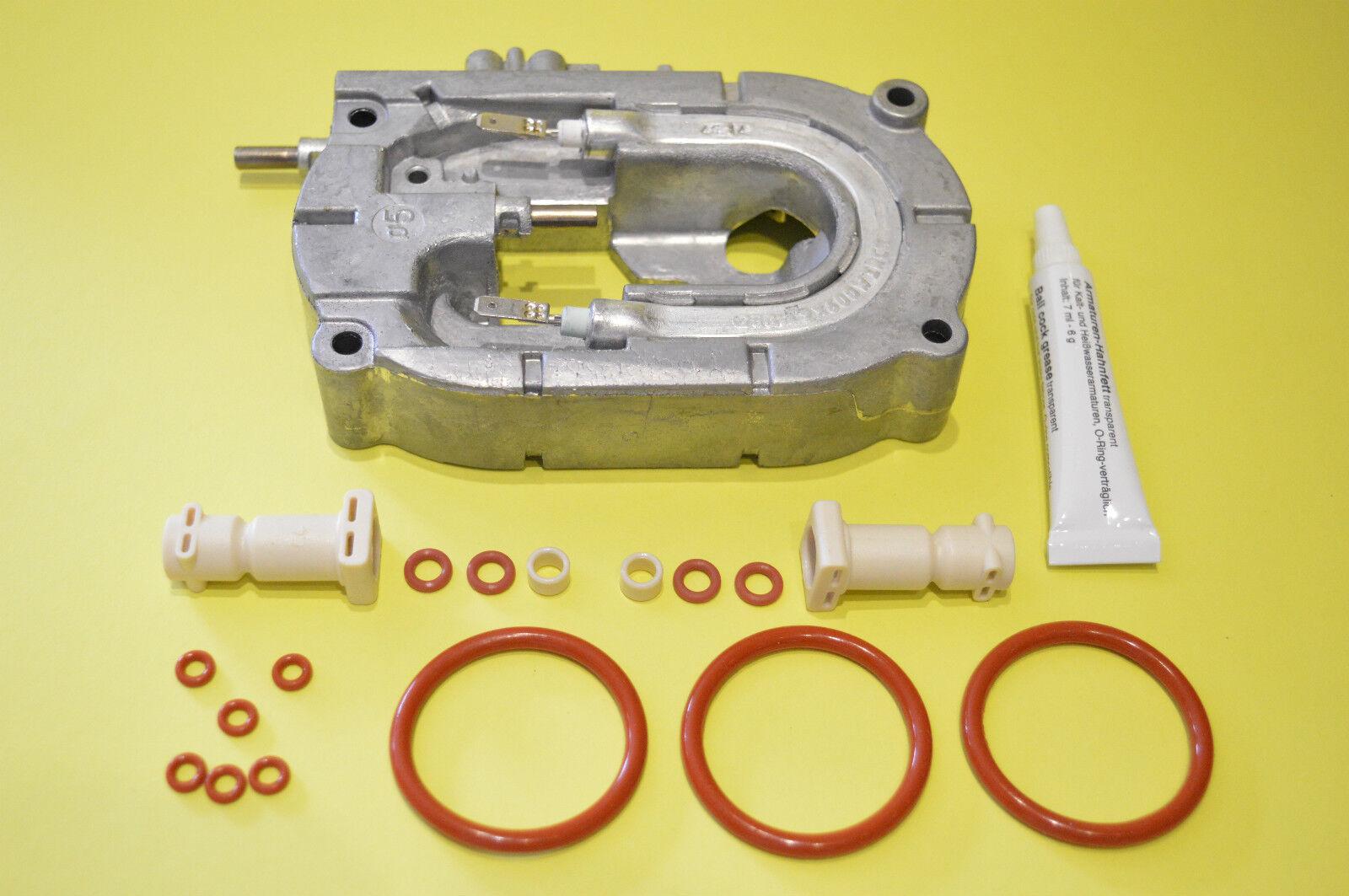 Thermoblock Durchlauferhitzer Boiler Heizung 6mm 2 Heizspiralen DeLonghi  ESAM