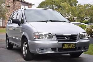 2004 Hyundai Trajet Wagon Blackwall Gosford Area Preview