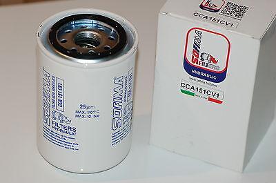 SPIN ON Schraubpatrone Filtereinsatz Hydraulikfilter Filter CCA151CV1 25µ