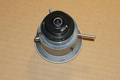 Lomo Condenser For Polarizing Microscope Pol D37mm