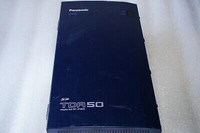 Loaded Panasonic Kx-tda50 Hybrid Ip-pbx Control Unit Kx-tda50g Phone System