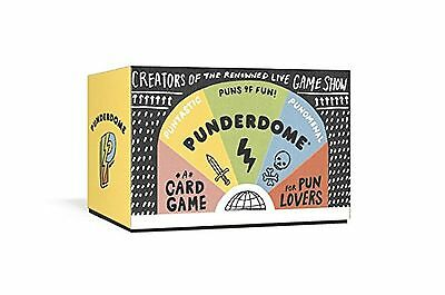 Punderdome  A Card Game For Pun Lovers Free Shipping