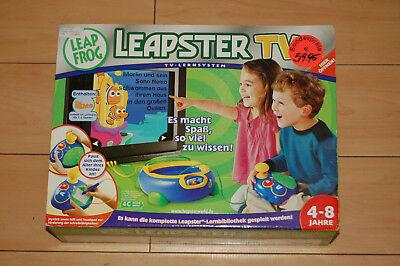 Leappad Frog Pad mit 4 Spielen Kindercomputer Leapfrog
