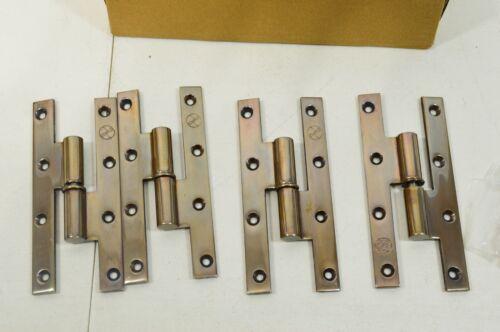 Van Cronenburg Custom Bronze Paumelle Door Hinges Set of 12 (4 per) 160/70