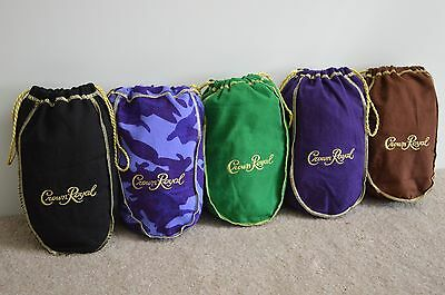 Lot Of 5 Crown Royal Bags / New