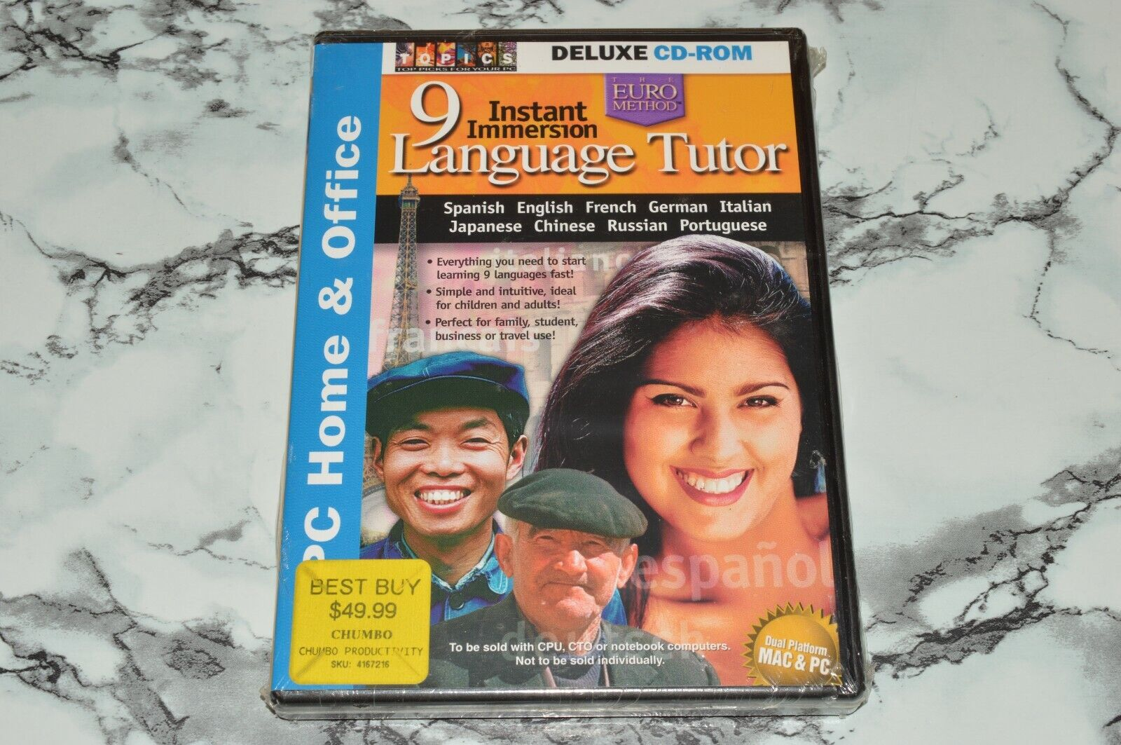 NEW - Instant Immersion 9 Language Tutor - Deluxe Version PC CD-ROM -- READ  - $12.68