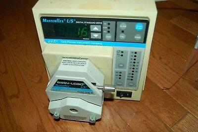 Cole Parmer Masterflex Peristaltic Pump Digital Standard Drive 7523-50 7518-12