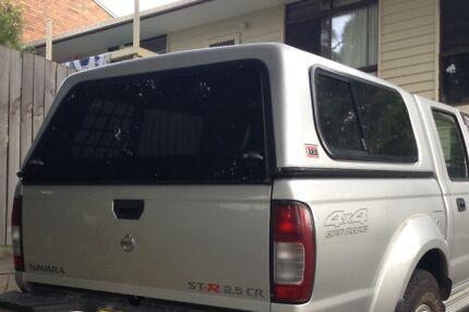 D22 Nissan Navara dual cab Canopy & navara d22 canopy | Parts u0026 Accessories | Gumtree Australia Free ...
