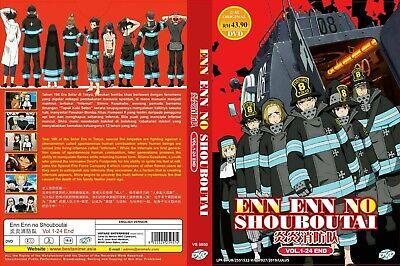 Anime [English Dubbed] Fire Force Enen no Shouboutai -Vol(1 - 24) Ship from USA