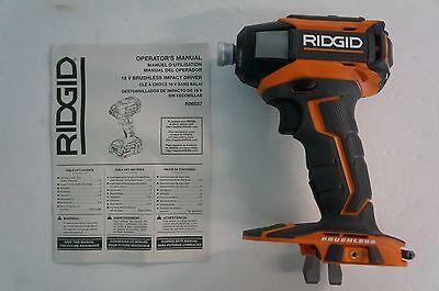 "Ridgid R86037 GEN5X 18V Li-Ion 1/4"" Cordless Brushless Impact Driver (Tool Only)"