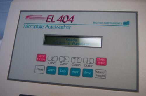 Bio-Tek Microplate EL 404 Microplate Washer AutoWasher EL404 auto washer