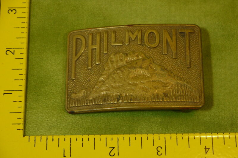 Vintage BSA Boy Scout Belt Buckle PHILMONT Brass