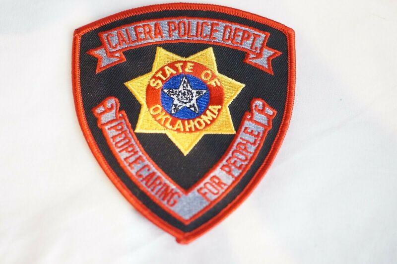 US Calera Oklahoma Police Patch