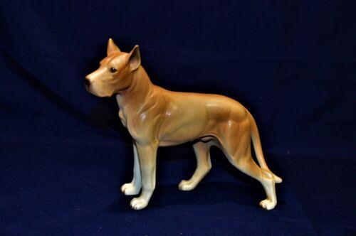Vintage Porcelain Great Dane Dog Figurine