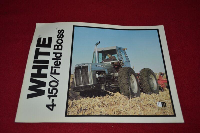White 4-150 Tractor Dealer