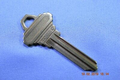 Gms Brass Control Keyblank For Schlage C Lfic Cylinders